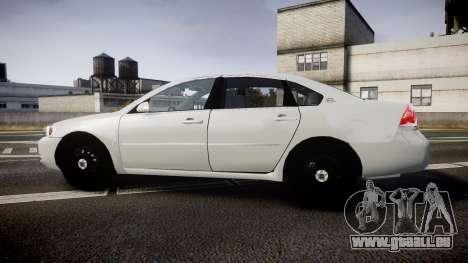Chevrolet Impala Unmarked Police [ELS] tw für GTA 4 linke Ansicht
