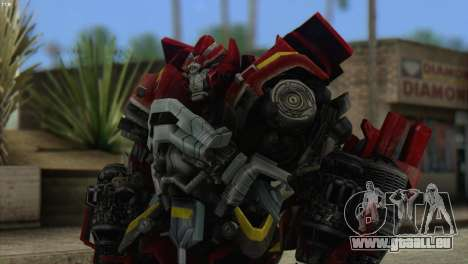 Ironhide Skin from Transformers v1 pour GTA San Andreas