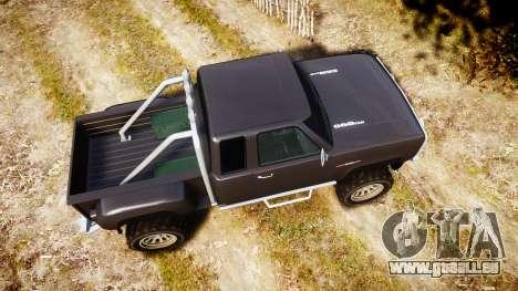 Vapid Bobcat Hillbilly für GTA 4 rechte Ansicht