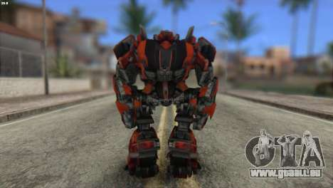 Autobot Titan Skin from Transformers für GTA San Andreas zweiten Screenshot