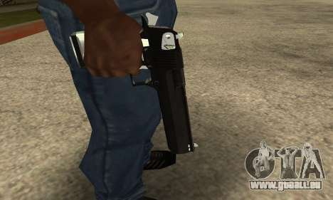 Cool Black Deagle für GTA San Andreas