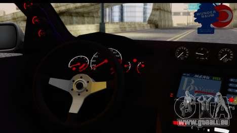 Seat Ibiza pour GTA San Andreas vue de droite