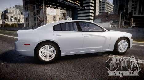 Dodge Charger Traffic Patrol Unit [ELS] bl für GTA 4 linke Ansicht