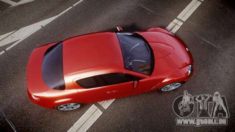 Mazda RX-8 2006 v3.2 Advan tires pour GTA 4 est un droit