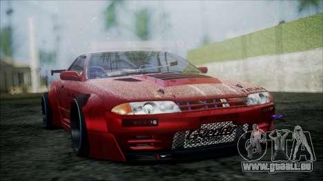 Nissan Skyline GT-R R32 Battle Machine pour GTA San Andreas vue de droite