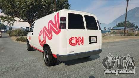 GTA 5 Bravado Rumpo CNN v0.2 hinten links Seitenansicht