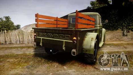 GTA V Bravado Rat-Loader pour GTA 4 Vue arrière de la gauche