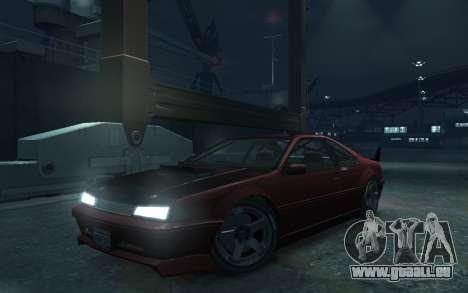 Vapid Fortune Drift pour GTA 4 Vue arrière de la gauche