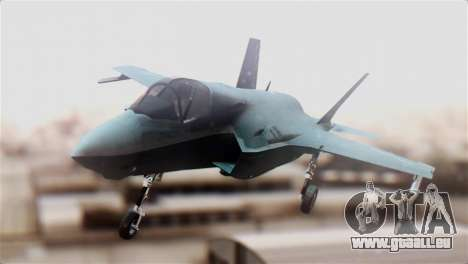 F-35B Lightning II pour GTA San Andreas vue de droite