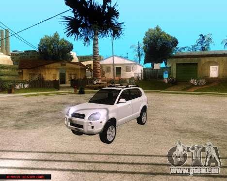 Hyundai Tucson pour GTA San Andreas