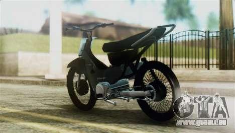 Honda Wave Stunt für GTA San Andreas linke Ansicht