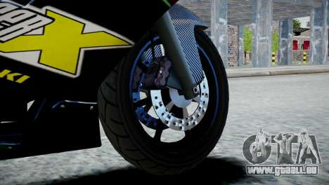 Bike Bati 2 HD Skin 3 pour GTA 4 Vue arrière de la gauche