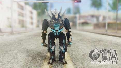 Drift Skin from Transformers pour GTA San Andreas deuxième écran