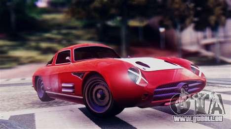 GTA 5 Benefactor Stirling GT für GTA San Andreas