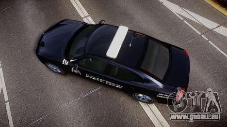 Dodge Charger Metropolitan Police [ELS] für GTA 4 rechte Ansicht