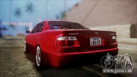 Toyota Chasher Tourer V pour GTA San Andreas laissé vue