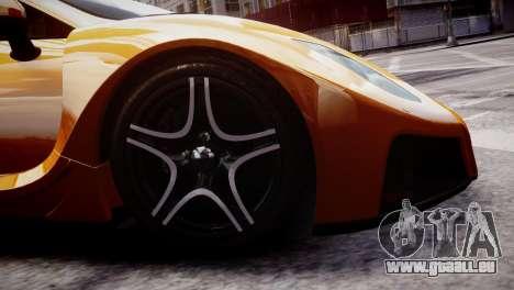 GTA Spano 2013 pour GTA 4 Vue arrière
