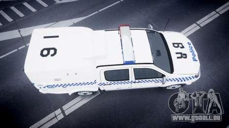 Toyota Hilux NSWPF [ELS] scoop pour GTA 4 est un droit