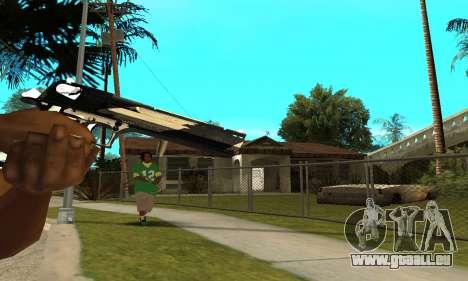 Two Lines Deagle pour GTA San Andreas troisième écran