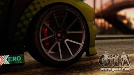 GTA 5 Bravado Buffalo Sprunk IVF pour GTA San Andreas sur la vue arrière gauche