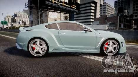 Bentley Continental GT Platinum Motorsports pour GTA 4 est une gauche