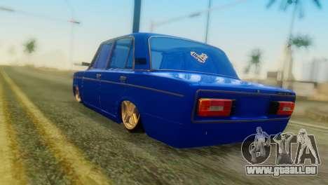 VAZ 2106 Caméléon pour GTA San Andreas laissé vue