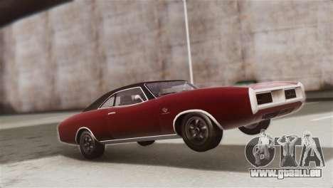 GTA 5 Imponte Dukes IVF für GTA San Andreas Rückansicht