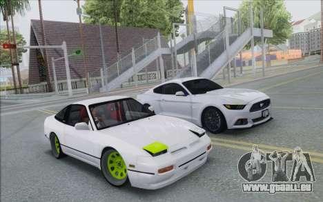 ENB Series Settings for Medium PC pour GTA San Andreas deuxième écran