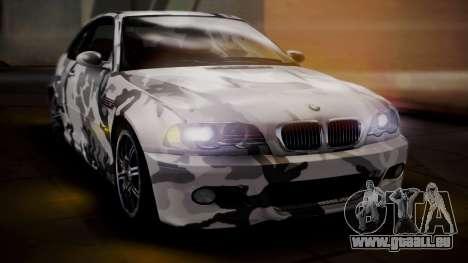 BMW M3 E46 v2 pour GTA San Andreas moteur