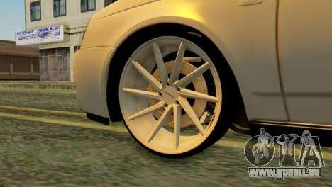 VAZ 2170 Italia pour GTA San Andreas sur la vue arrière gauche