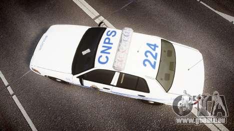 Ford Crown Victoria CNPS [ELS] pour GTA 4 est un droit