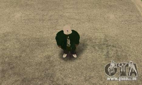 Groove St. Nigga Skin First pour GTA San Andreas deuxième écran