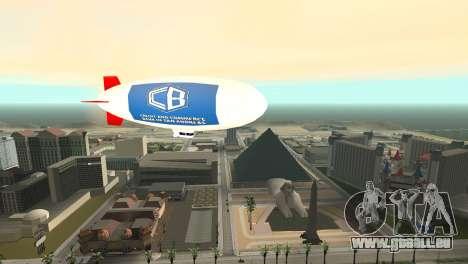 La publicité dirigeables pour GTA San Andreas quatrième écran