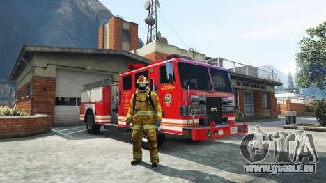 Die Arbeit in der Feuerwehr v1.0-RC1 für GTA 5