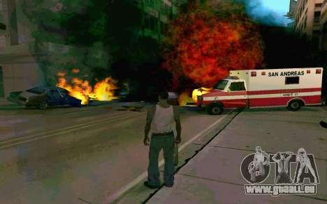 De nouveaux effets pour GTA San Andreas troisième écran
