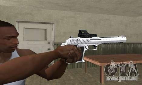 Tiger Deagle pour GTA San Andreas deuxième écran