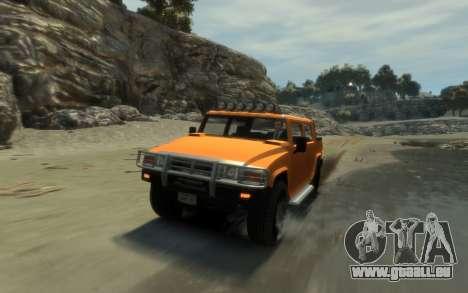 Mammoth Patriot Pickup pour GTA 4