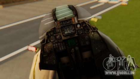 F-14A Tomcat VF-202 Superheats pour GTA San Andreas vue arrière