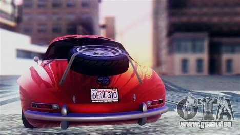 GTA 5 Benefactor Stirling GT für GTA San Andreas rechten Ansicht