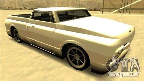 Slamvan Final pour GTA San Andreas vue de côté