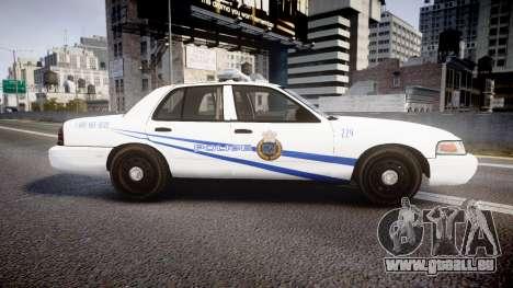 Ford Crown Victoria CNPS [ELS] pour GTA 4 est une gauche