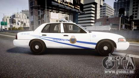 Ford Crown Victoria CNPS [ELS] für GTA 4 linke Ansicht