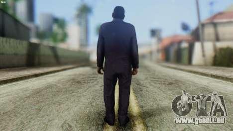 Uborshik Skin from GTA 5 pour GTA San Andreas deuxième écran