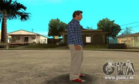 Skin Claude [HD] pour GTA San Andreas septième écran