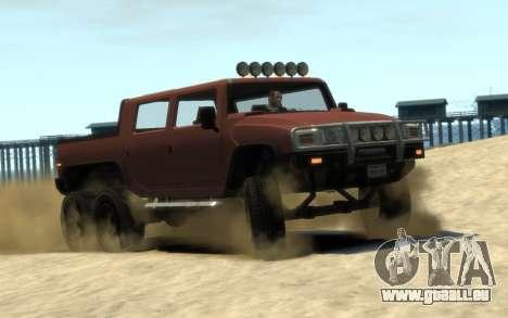 Mammoth Patriot 6x6 pour GTA 4