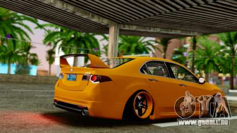 Acura TSX Hellaflush 2010 für GTA San Andreas