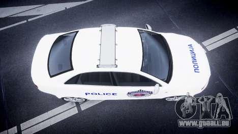 Audi RS4 Serbian Police [ELS] pour GTA 4 est un droit