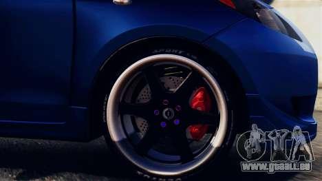 Toyota Yaris S 2008 pour GTA San Andreas vue arrière