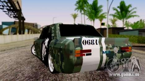 Peykan Javanan Drift pour GTA San Andreas laissé vue