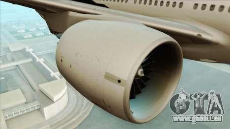 B777-200ER Air New Zealand Black Tail Livery pour GTA San Andreas vue de droite